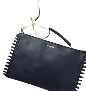 Lanvin Dark Blue Clutch