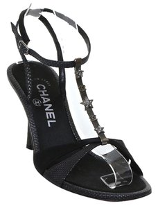 Chanel Sandal Black Sandals