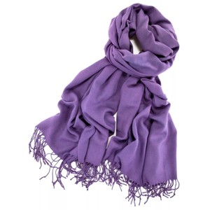 Cashmere Pashmina Group Purple* Cashmerse Wool Scarf