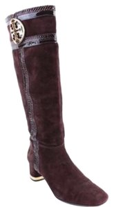 Tory Burch Sabina Coconut Brown Boots