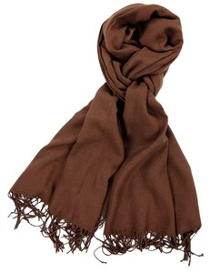 Cashmere Pashmina Group Brown Cashmere Scarf