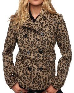 Anthropologie Leopard Jacket