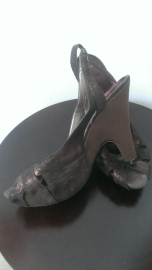 Nine West Brown Platforms