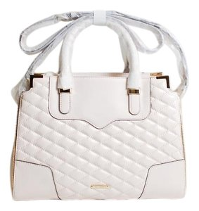Rebecca Minkoff Amorous Quilted Amorous Quilted Satchel in seashell