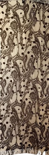 Preload https://item5.tradesy.com/images/nordstrom-cream-and-brown-paisley-and-dot-design-cotton-scarf-1959744-0-1.jpg?width=440&height=440