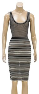 Zac Posen short dress Black/Multicolor on Tradesy