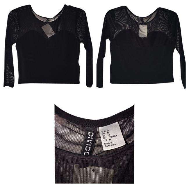 Preload https://item3.tradesy.com/images/h-and-m-black-blouse-size-10-m-1959792-0-0.jpg?width=400&height=650