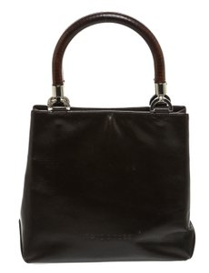 Sergio Rossi Satchel in Dark Brown