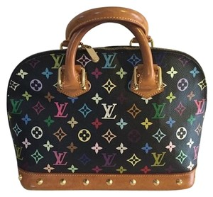 Louis Vuitton Multicolor Leather Satchel in Multicolore