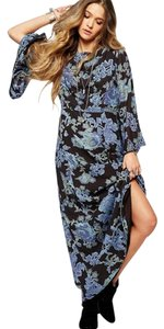Maxi Dress by Free People Floral Cut-out Flowy