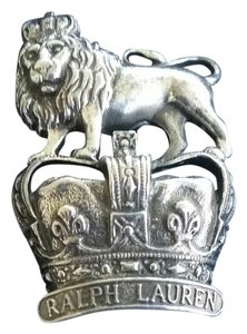 Ralph Lauren Lion and Crown Pin