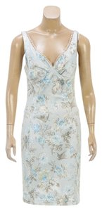Dolce&Gabbana short dress Blue/Multicolor on Tradesy