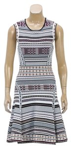 Diane von Furstenberg short dress White/Multicolor on Tradesy