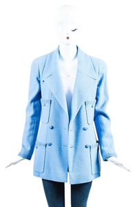 Chanel Baby Blue Jacket