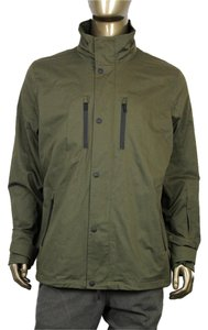 Gucci Men's Hooded Green Jacket