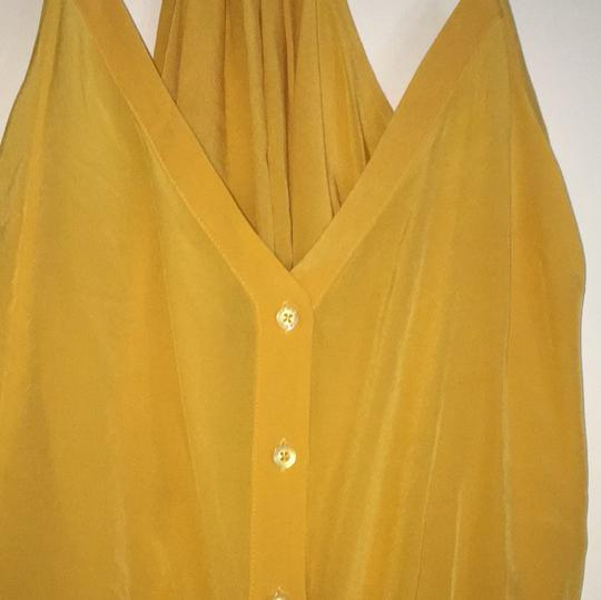 bebe Top Mustard Yellow/gold - 71% Off Retail 70%OFF