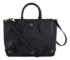 Tory Burch Robinson Tote in Black