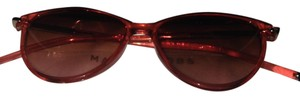 Marc by Marc Jacobs Womens Round burgundy with red accents Plastic Frame MMJ202