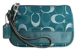 Coach Signature Wallet Wristlet