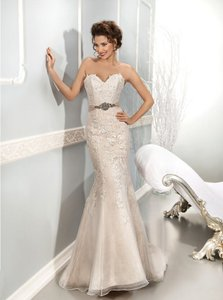 Cosmobella Trumpet Sweetheart Lace Dress Wedding Dress