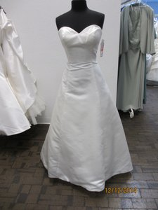 Ivory Satin 18838 (156l) Formal Wedding Dress Size 16 (XL, Plus 0x)