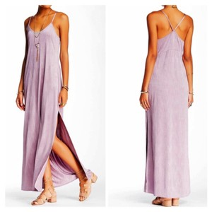 Dusty Purple Maxi Dress by Free People