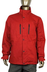 Gucci Men's Hooded Red Jacket