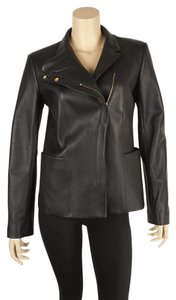 The Row Casual Leather Motorcycle Jacket