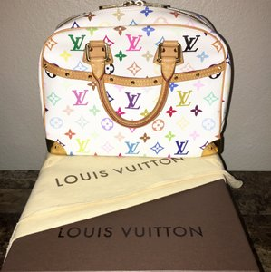 Louis Vuitton Trouville Satchel in Multicolor