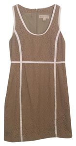 MICHAEL Michael Kors short dress Tan on Tradesy