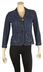 Miu Miu Casual 100% Cotton Womens Jean Jacket