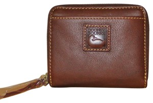 Dooney & Bourke Florentine Leather Credit Card Wallet
