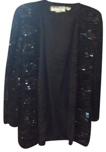 Scala Top Black Sequined.