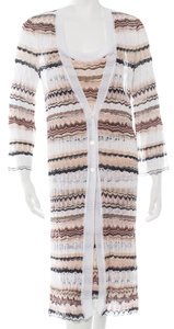 Missoni Striped Chevron Longsleeve Dress