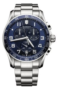 Victorinox Victorinox Swiss Army Chrono Classic Blue Dial Mens Watch 241497