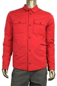 Gucci Men's Nylon Shirt Red Jacket