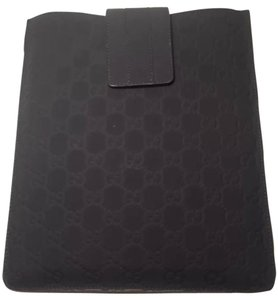 Gucci GUCCI BLACK IPAD SLEEVE