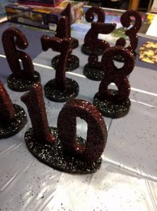 Set Of 1-10 Table Numbers & Mr. & Mrs.
