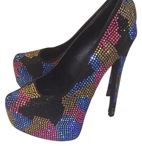 Steve Madden Multi- colored Pumps