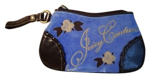 Juicy Couture Wristlet in blue /Brown