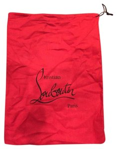 Christian Louboutin Christian Louboutin Felt Dustbag Black Store Shoes Items String Bag