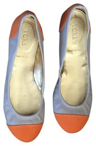 J.Crew Beige and orange Flats