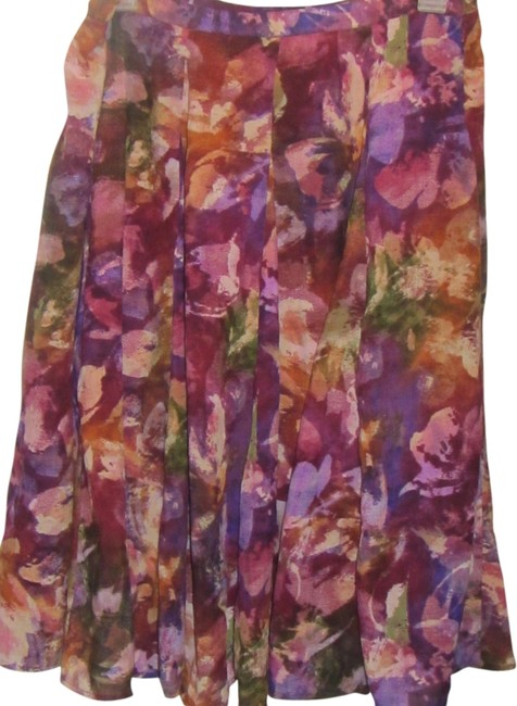 Preload https://item5.tradesy.com/images/coldwater-creek-multi-floral-print-knee-length-skirt-size-16-xl-plus-0x-1960049-0-0.jpg?width=400&height=650