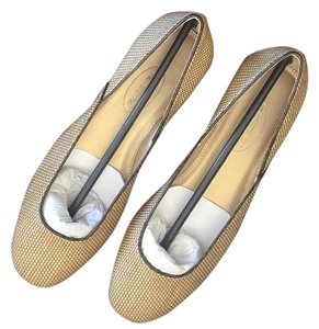 Talbots Beige with brown trim Flats