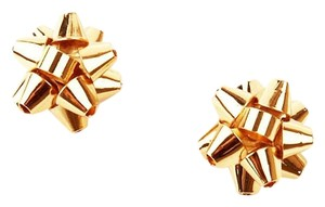 Kate Spade NEW Kate Spade New York Bourgeois Bow in Gold - 12k Stud Earrings