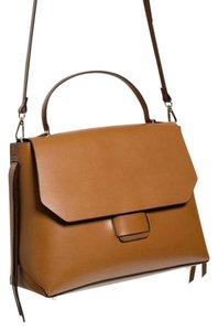 Zara Satchel in Caramel Tan