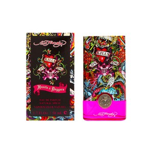 Christian Audigier ED HARDY HEARTS & DAGGERS Womens EDP Spray ~1.7 oz / 50 ml