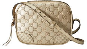 Gucci New Disco Leather Cross Body Bag