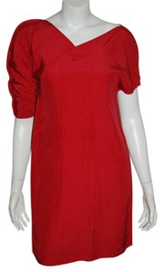 Fendi short dress red on Tradesy