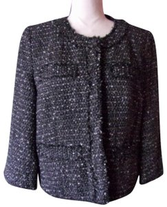 Michael Kors Black Tweed Blazer